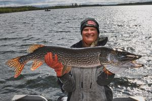 Paul Chadwick with 44 inch Master Angler Northern