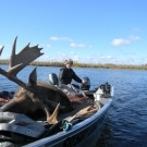 Bull Moose from Silsby Lake in 2011