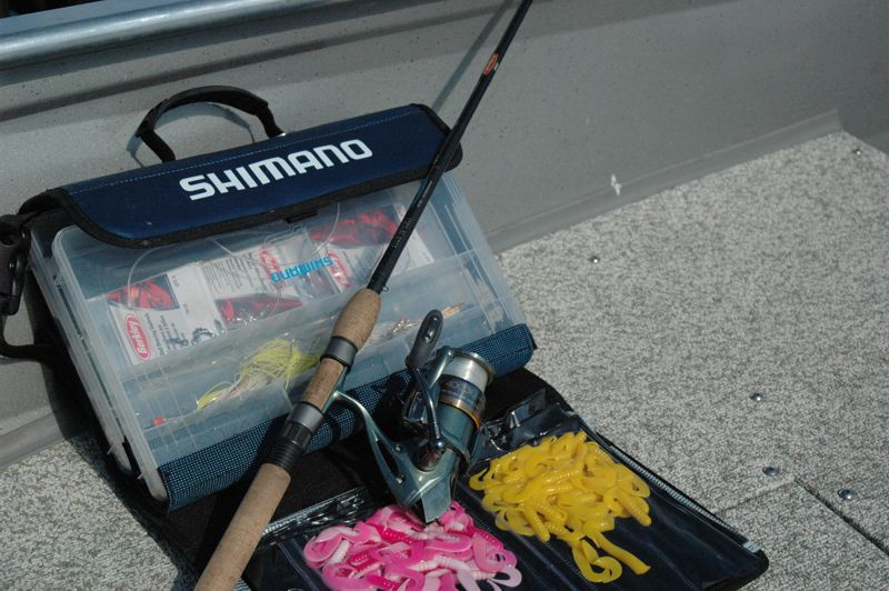 Free use of fishing equipment