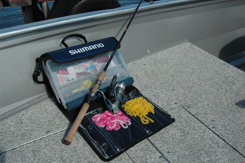 St. Croix rods and Shimano reels FREE use while on your trip