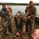 2016 Silsby Lake Lodge bull Moose