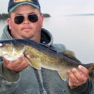 A typical Walleye from High Hill Lake