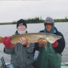Bill Groebner with Master Angler Northern Pike from Silsby