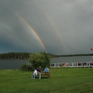 A double rainbow at Silsby