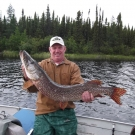 Ken Fett with Master Angler Northern from High Hill Lake