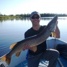 Another trophy from High Hill Lake