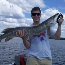 Jarrod Kruse with 47 inch Northern from Silsby in July