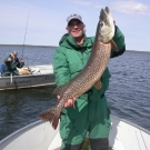 Joe Dickerson Sr. with Master Angler from High Hill