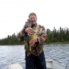 The Matzke group with a nice Walleye from Cuddle Lake