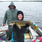 Dan Ostrowski with nice Silsby Lake Walleye