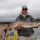 Phil Rayburg with Master Angler Pike from Cuddle
